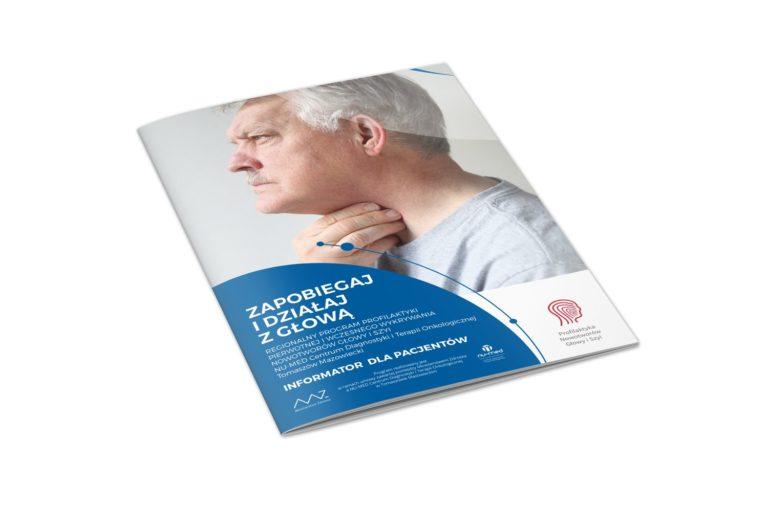 Zapobiegaj i działaj z głową - broszura dla mężczyzn