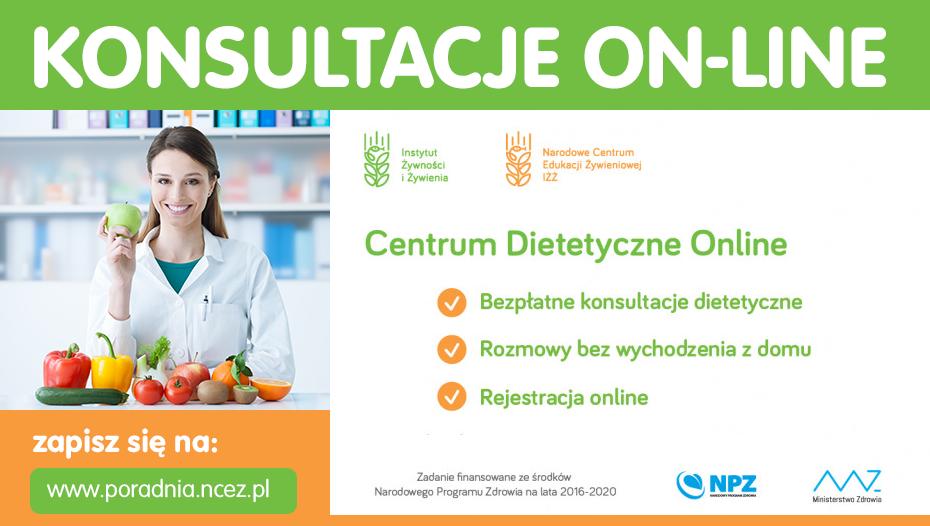 Konsulatcje dietetyczne on-line